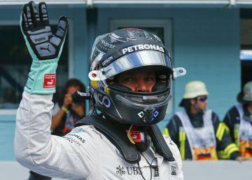 Rosberg, el más rápido en casa