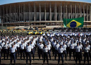 Policías retirados para completar la seguridad