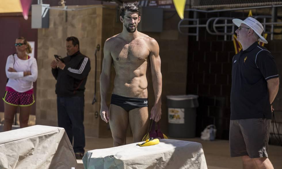 Phelps y Bowman en la Universidad de Arizona.