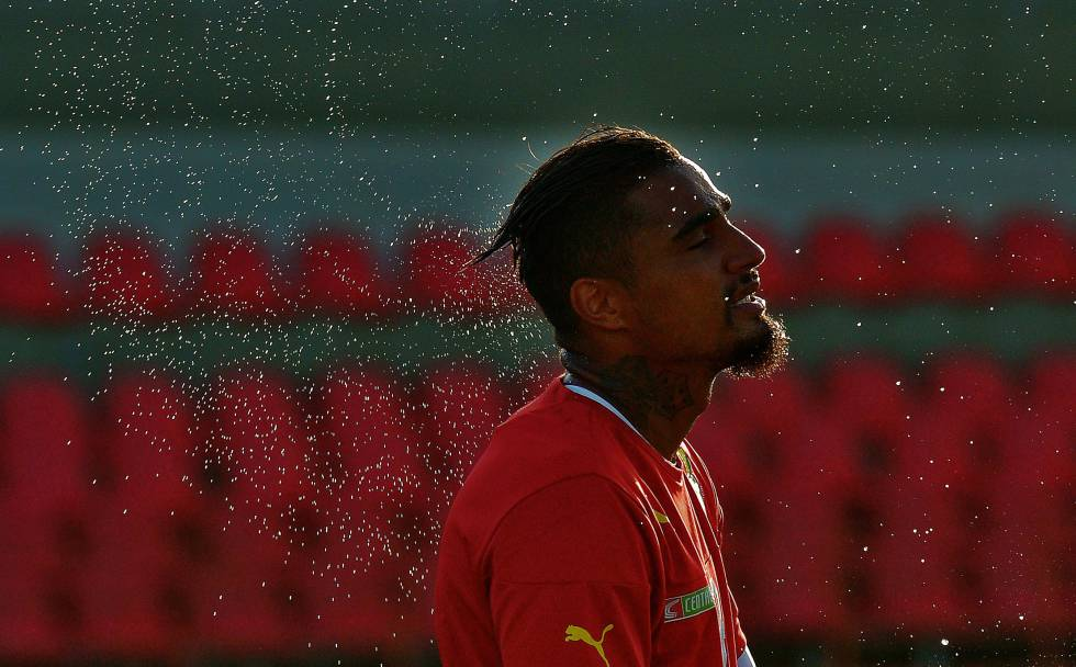 Kevin-Prince Boateng busca renacer en Las Palmas