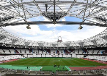 El estadio olímpico de Londres se hace futbolero