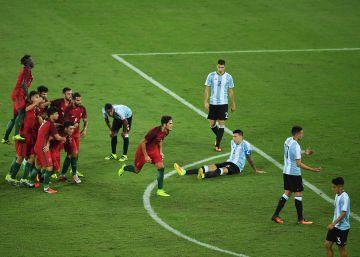 Portugal vence a Argentina en el cruce más complicado