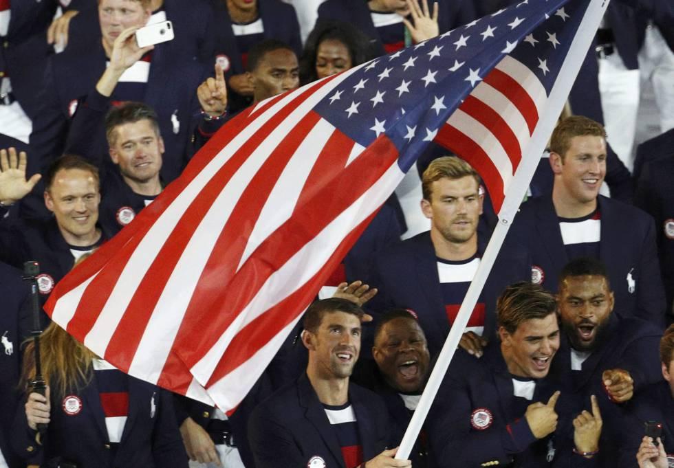 Nadal sonríe, Phelps se emociona y los palo-selfie