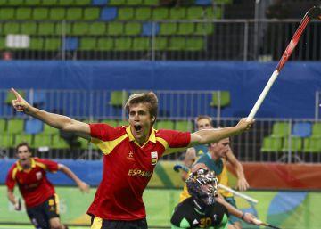 Golpe de mano del hockey español ante Australia