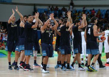Seleção argentina de basquete critica seus torcedores