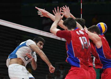 La selección argentina de voleibol destrona a Rusia