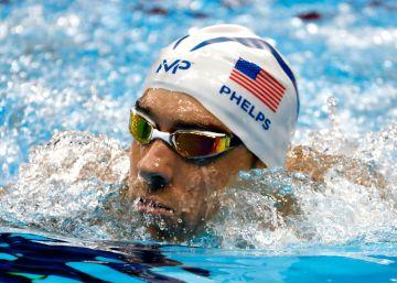 Phelps no puede parar