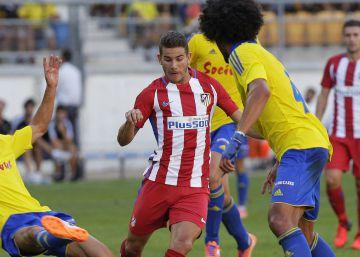 El Cádiz sorprende al Atlético