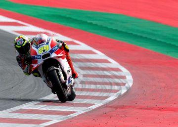 'Pole' para Iannone en Austria por delante de Rossi y Dovizioso