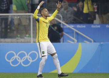 Brasil vence a una Colombia menor