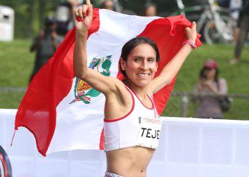 Gladys Tejeda, mujer de viento y altura