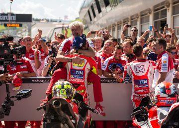 Iannone y Dovizioso devuelven la gloria a Ducati