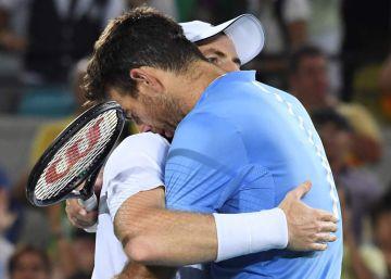 Murray y Del Potro brindan por el tenis
