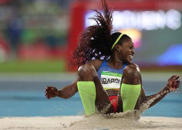 Caterine Ibargüen logra la medalla de oro en triple salto