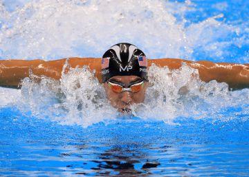 Phelps, el nadador en el desierto