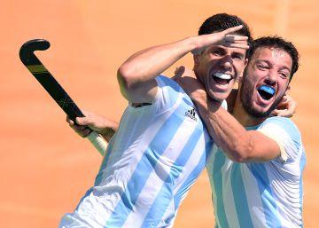 El hockey argentino hace historia y va por el oro