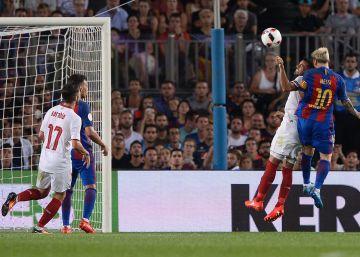 Messi levanta la Supercopa