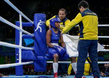Íngrit Valencia, de defenderse de los niños al bronce en boxeo