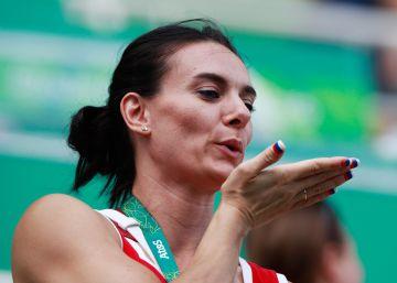 Isinbayeva estará en la comisión de atletas del COI tras su exclusión de Río