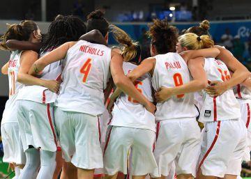 España, en la final de baloncesto femenino