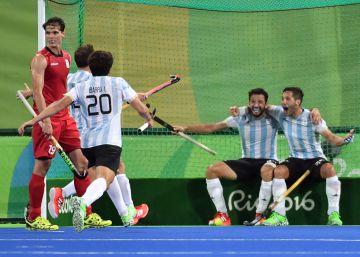 Argentina se cuelga su tercera medalla dorada gracias al Hockey