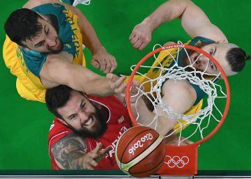 Serbia arrolla a Australia y llega a la final