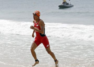 La pequeña gigante del triatlón chileno