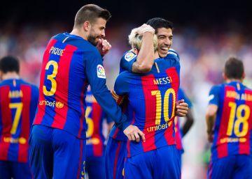 Antológica versión veraniega de Messi