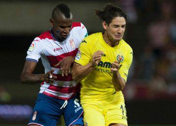 Los palos evitan la victoria del Villarreal ante el Granada
