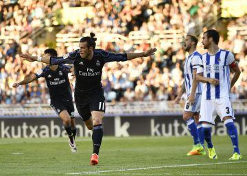 El Madrid arruga a la Real