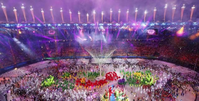 Ceremonia de clausura de los Juegos de Río.