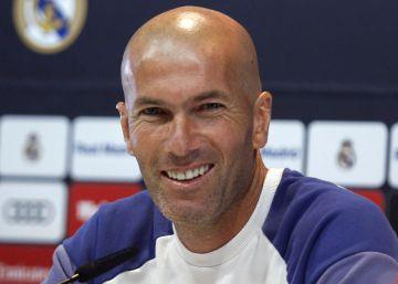 """Zidane: """"James ha jugado menos y puede ser un problema"""""""