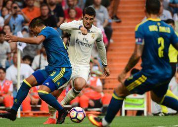 El Madrid sufre para ganar al Celta
