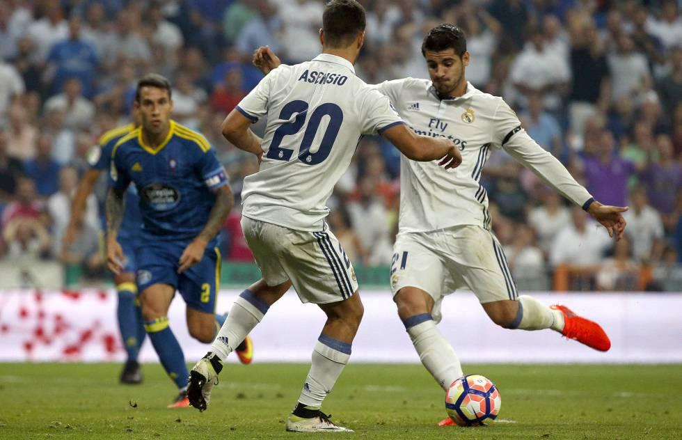 Morata hace el primer gol del Madrid