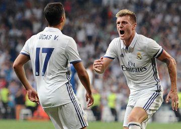 El Madrid resuelve un duelo muy crudo ante el Celta