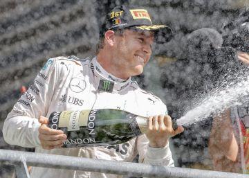 Rosberg vuelve a ganar