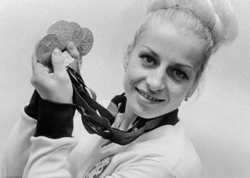 Vera Caslavska, la gimnasta que desafió a la URSS