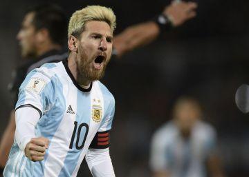 Argentina vence 1-0 a Uruguay con gol de Lionel Messi