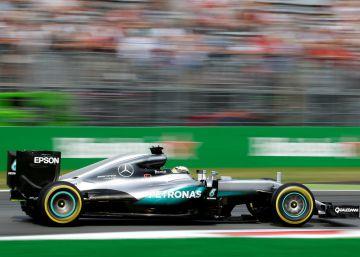 Hamilton abre pista en Monza
