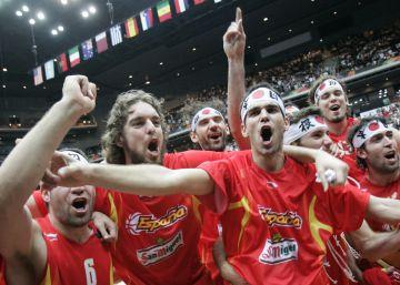 El oro que rompió el hielo en el baloncesto español