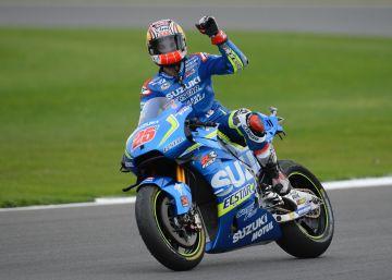 Viñales doma la Suzuki en Silverstone