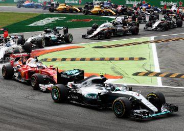 Rosberg gana en Monza y se queda a dos puntos del liderato