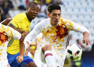 Empate agridulce de España ante Suecia