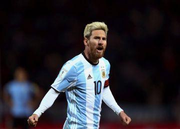 Messi baja el ritmo