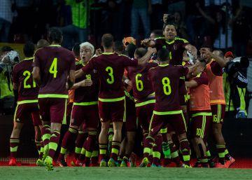 Venezuela saca un empate ante Argentina por las eliminatorias para Rusia 2018