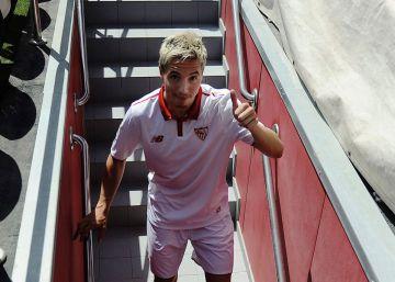 Nasri, atracción del Sevilla ante Las Palmas