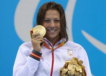 La nadadora Nuria Marqués consigue la segunda medalla de oro para España