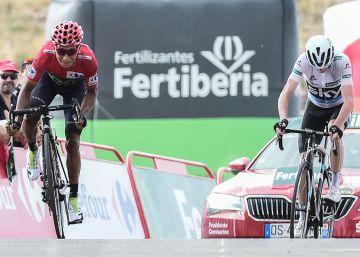 Nairo Quintana aguanta ante Froome y sentencia la Vuelta