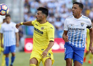 El Villarreal vence con solvencia al Málaga