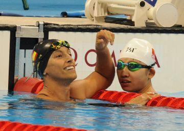 Primera final sin medalla para Teresa Perales